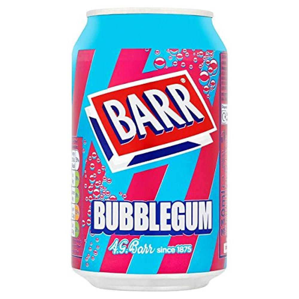Drink - Barrs Bubblegum can