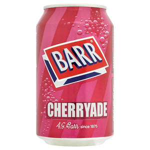 Drink - Barrs Cherryade can