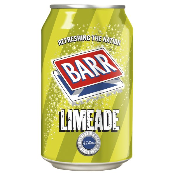 Drink - Barrs Limeade can