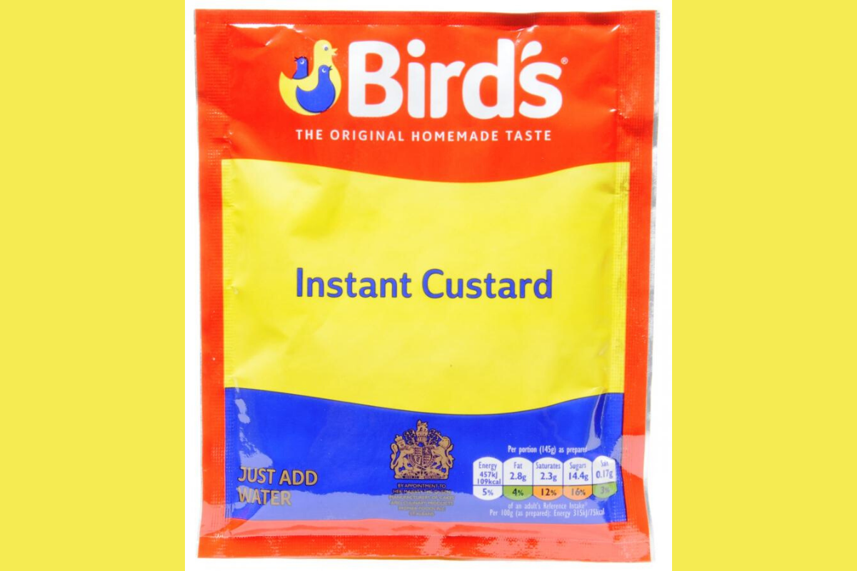 A   Bird's Instant Custard Powder Sachet