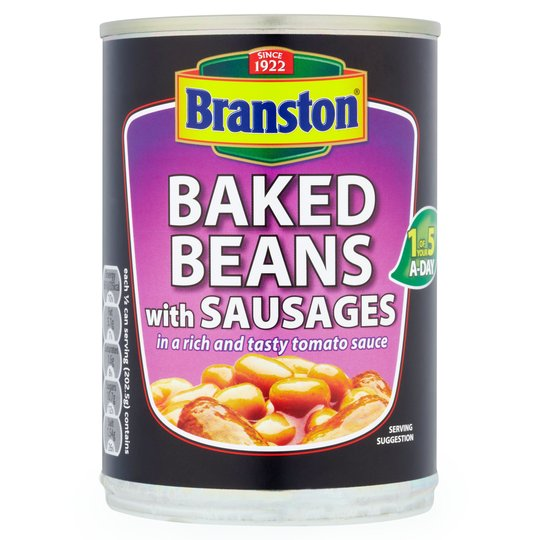 Branston Baked Beans With Sausage (can 405g)