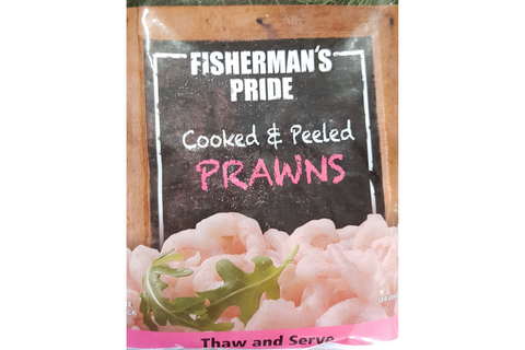 Coldwater Cooked Prawns