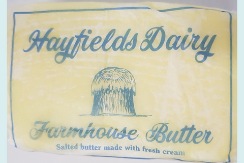 Hayfields Dairy - Farmhouse Butter (salted) 250g