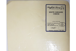 Hayfields Dairy - White Cheshire Cheese 2.5kg