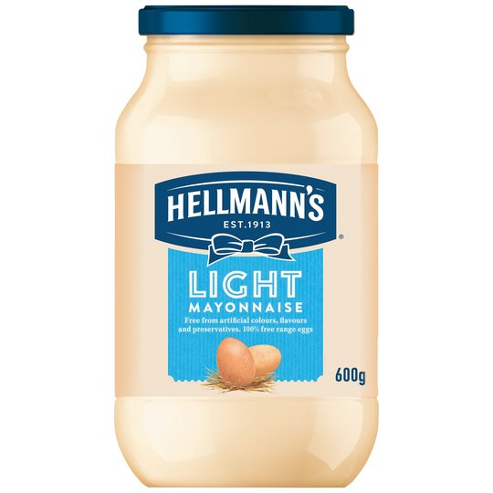 Hellmann's Light Mayonnaise Jar