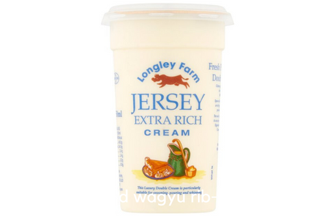 Jersey Extra Rich  Double Cream 250ml