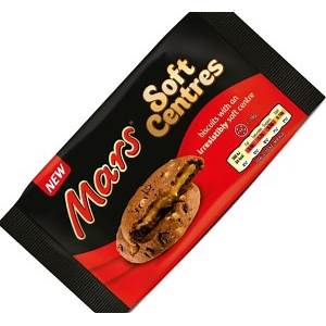 Mars Twix Soft Baked Cookies 8 pack