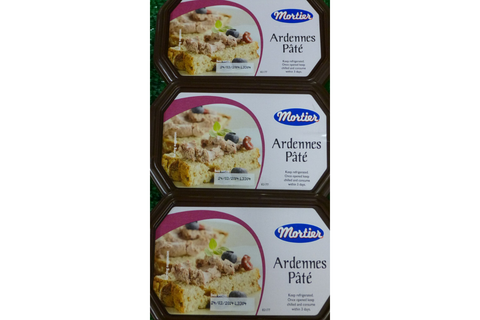Mortier Ardennes Pate