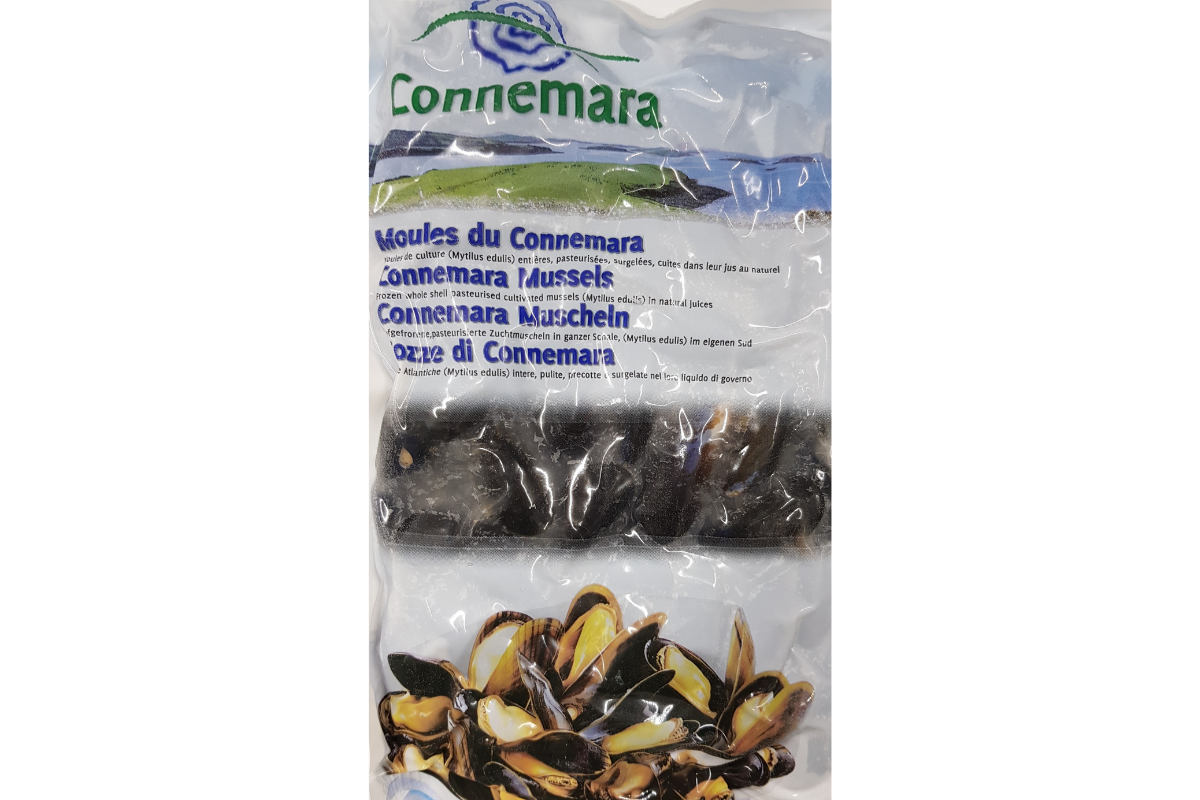 Connemara Mussels, Shell On