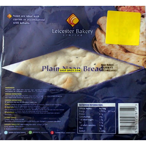 Naan Bread (large)
