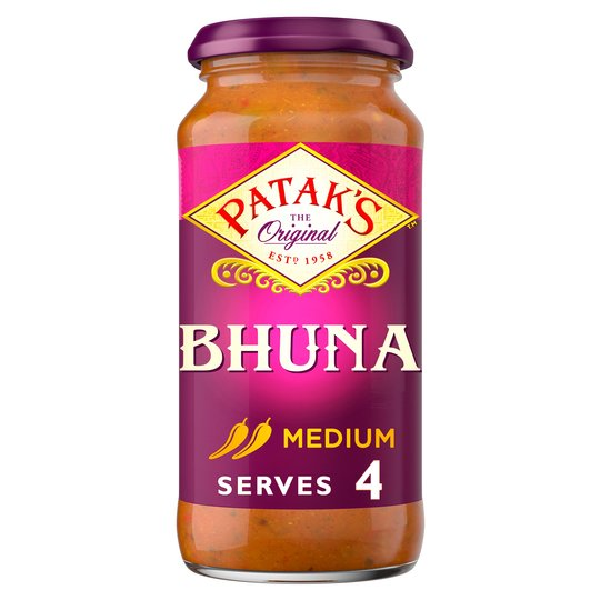 Pataks Bhuna Curry Sauce 450g