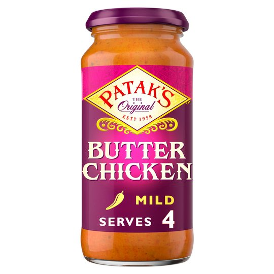 Pataks Butter Chicken Curry Sauce 450g