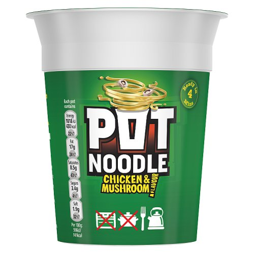 Pot Noodles Chicken and Mushroom