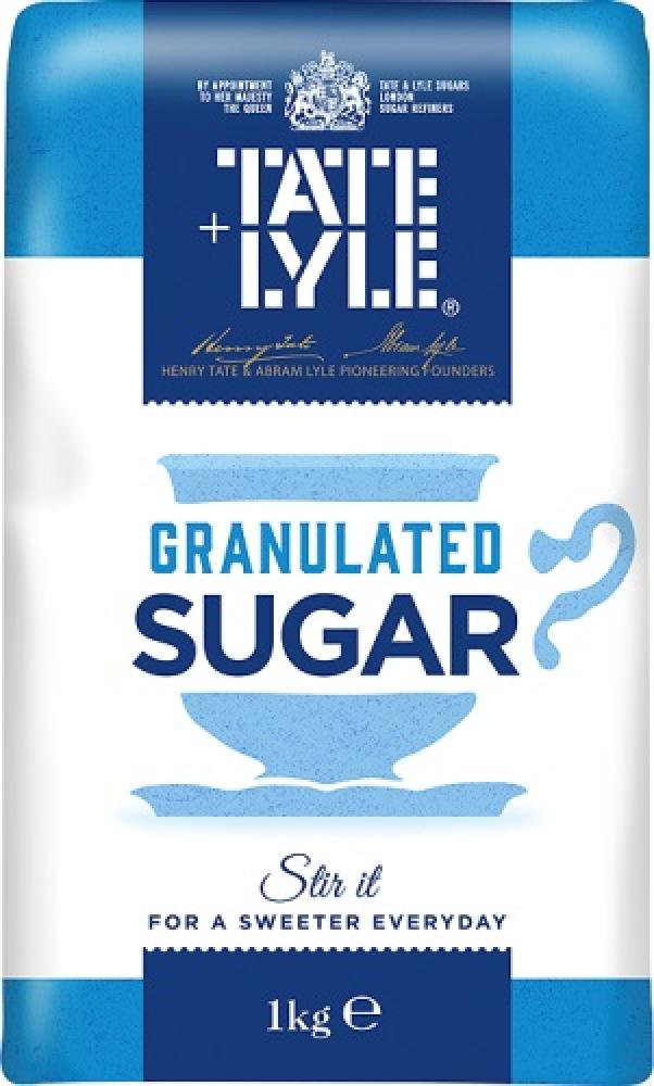 A  Tate & Lyle Granulated Sugar 1kg