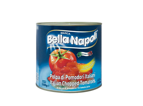 Tomatoes, Bella Napoli, Chopped, Large Tins 2.5kg