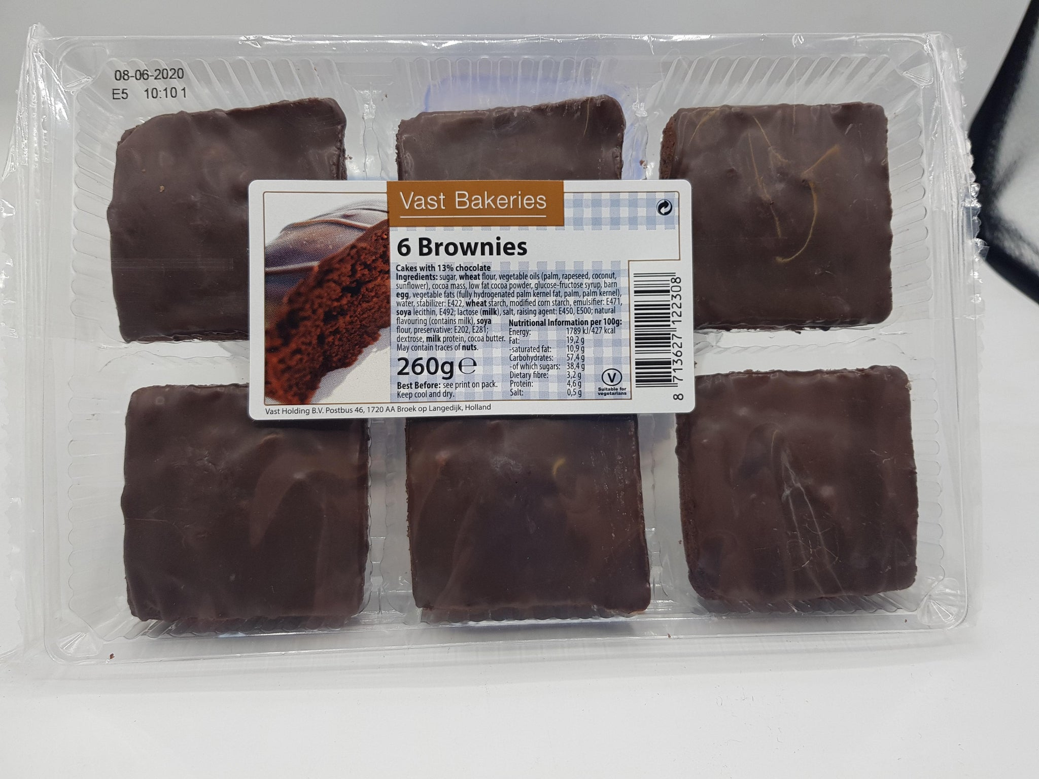 Chocolate Brownies (6 pk)