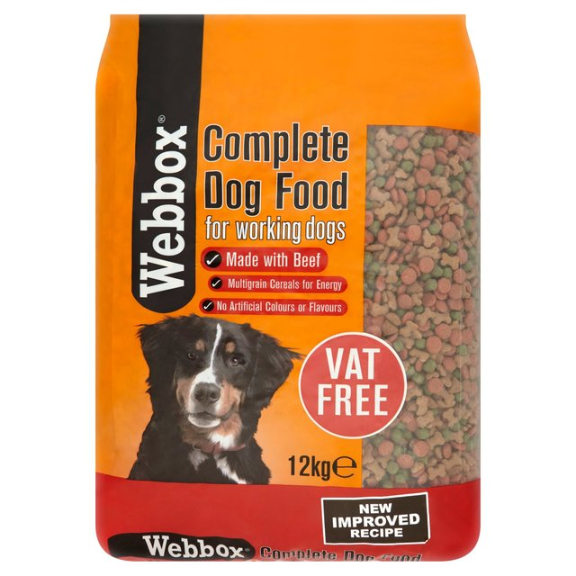 Dog Food Webbox Complete Working Dog Food 2kg
