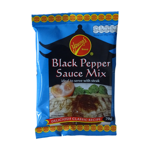 Yeung's Black Pepper Sauce Mix pack (70g)