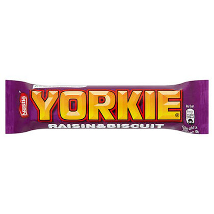 Nestle Yorkie Raisin and Biscuit Bar 44g
