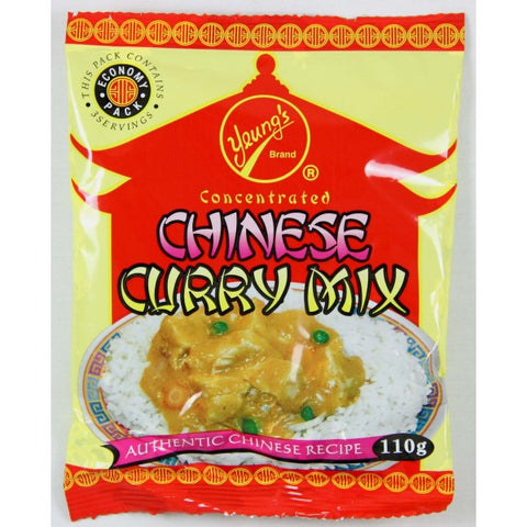 Yeung's Chinese Curry Mix pack (220g)