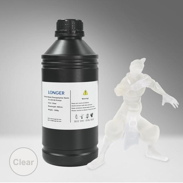 LONGER 405nm UV Resin For Resin Printing