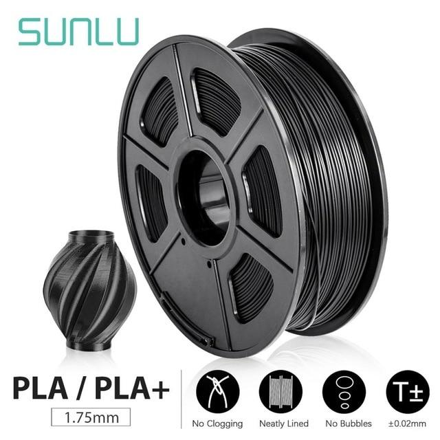 SUNLU 3D Printer Filament PLA+/PLA 1.75mm 2.2 LBS 1KG