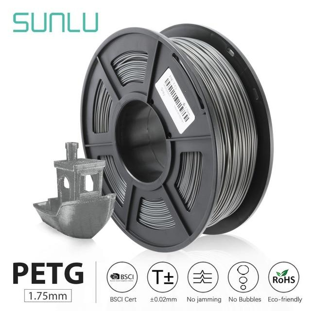 SUNLU PETG 3D Printer Filament 1.75mm 1KG
