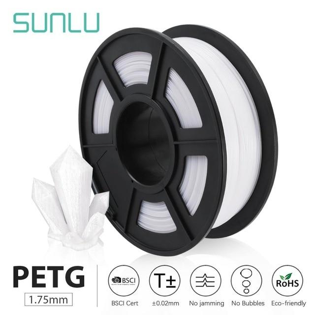SUNLU PETG 3D Printer Filament 1.75mm