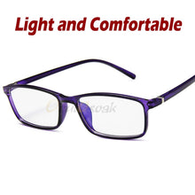 Load image into Gallery viewer, Women Blue Film Radiation protection Glasses Frames Optica Spectacle Square Glasses Frame Men Anti Blue Light Eyeglasses