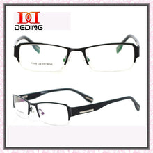 Load image into Gallery viewer, 2014 Brand New Male Metal Half-framed Optica Myopia Glasses Frame Business Eyeglasses DD0570