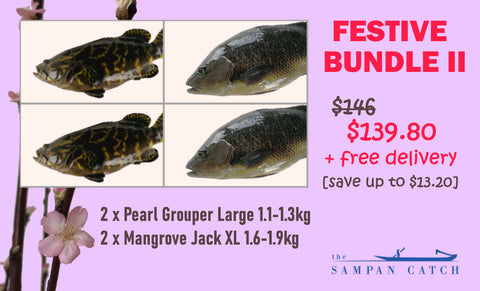 THE SAMPAN CATCH - Chinese New Year 2021 Offer!