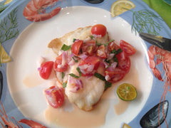 Snapper Fillet with Salsa