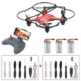 ATOYX Drone With Camera HD 4K FVP WIFI Mini Camera Drone RC Quadcopter Wide Angle HD High Headless Altitude Hold Mode 4CH Toy