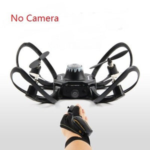 2019 new original W606-16 Valcano gloves control interactive Foldable mini drone Quadcopter Wifi FPV 480P camera RC helicopter