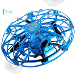 Flying RC Helicopter Magic Hand UFO Induction Aircraft Electronic Toy Mini Induction Drone Electric Kids Toys