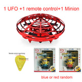Colorful Anti-collision Flying Helicopter Magic Hand UFO Ball Aircraft Sensing Mini Induction Drone Kids Electric Electronic Toy