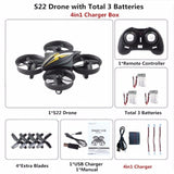 Mini Drone Dron Quadcopter Remote control Quadrocopter RC Helicopter 2.4G 6 Axis Gyro Drones with Headless Mode VS H36 E010 Dron
