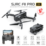 SJRC F11 PRO Profissional GPS 5G WiFi FPV Foldable Drone with Camera 1080P 2K HD Brushless RC Quadcopter Helicopter Toy VS SG906