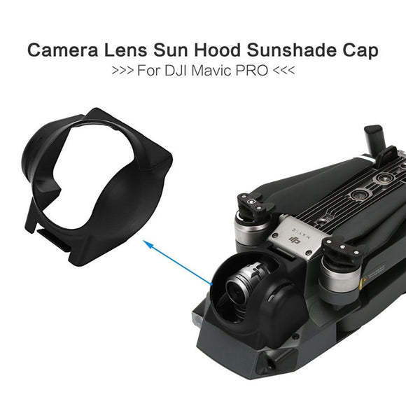 Red/Gray/Black Camera Lens Sun Hood Sunshade Anti-Glare Camera Gimbal Protector for DJI Mavic Pro Drone Accessories