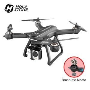 Holy Stone HS700 Drone Brushless GPS 5G with 1080P Camera Full HD FPV 1000m Range 2800mAh Motor RC Helicopter Quadcopter GPS