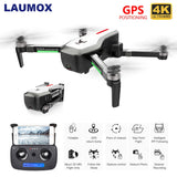 LAUMOX SG906 Drone GPS 5G WIFI FPV With 4K HD Camera Brushless Selfie Foldable Drones RC Quadcopter RTF VS H117s B4W ZEN K1 F11