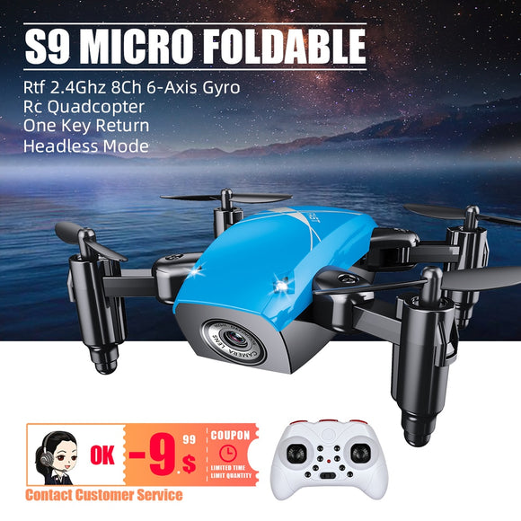 2020 New Mini Drone With HD Camera dron drones rc helicopter toys quadrocopter remote control  helikopter droni selfie com