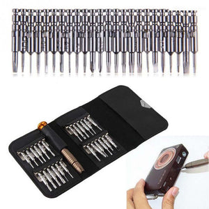 25 in 1 Mini Screwdriver Tools Set Drone Repair Parts small tool case bag for DJI Mavic Pro/Spark/Phantom4/3/2 Drone accessories