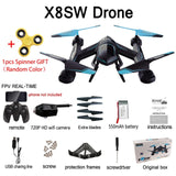 X8SW Multicopter Remote Helicopter Quadcopter Camera Drone Quadrocopter RC Dron Remote Control Toys or No Camera