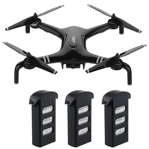 JJRC X7 SMART Double GPS 5G WiFi 1080P FPV Brushless RC Drone - RTF Gimbal 23mins Flight Quadcopter Waypoint One Key 3 Batteries