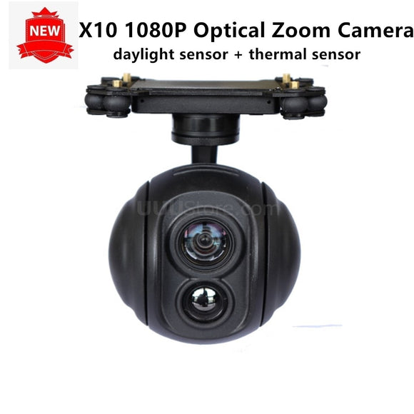10x Daylight Sensor 1080P HD Zoom Camera Gimbal Stabilizer for UAV Drone Aerial Cinematography Inspection Rescue Surveillance
