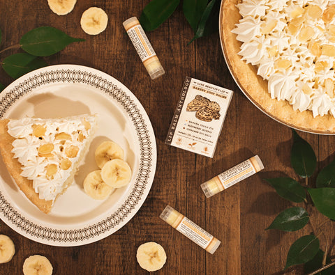 Banana Cream Pie - All Natural Lip Balm - Gourmet Flavor