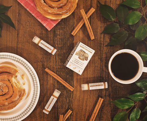 Cinnamon Nut Rolls Natural Lip Balm Anthology