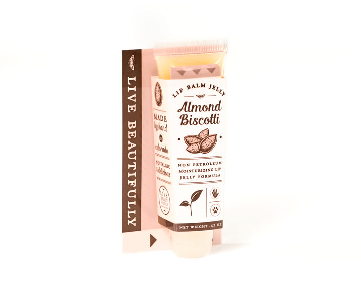 Almond Biscotti Lip Balm Jelly