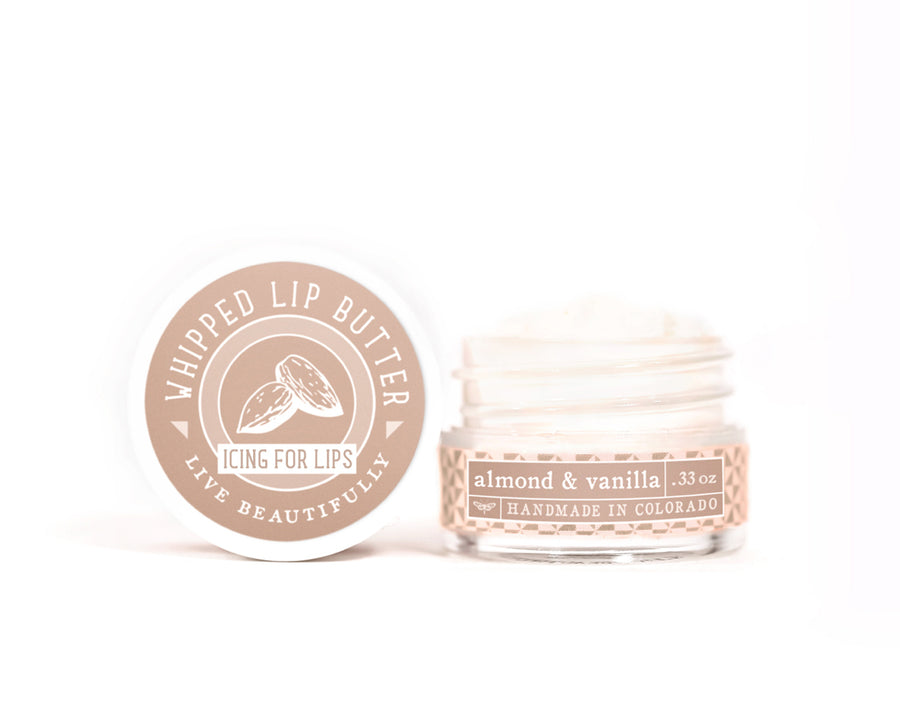 Almond Vanilla Whipped Lip Butter
